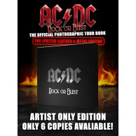 AC/DC ROCK OR BUST (THE BLACK LEATHER & METAL EDITION)