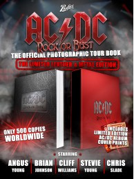 AC/DC ROCK OR BUST (LEATHER & METAL EDITION)