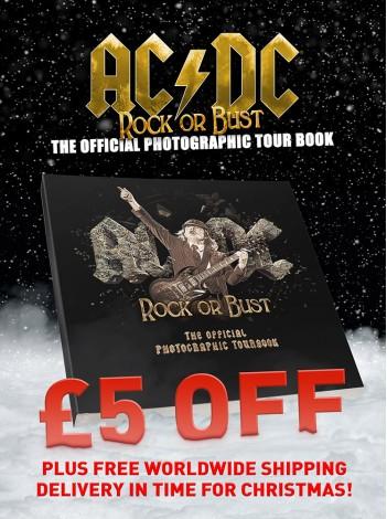 AC/DC ROCK OR BUST - STANDARD EDITION (FREE WORLDWIDE SHIPPING UNTIL DEC 15th)