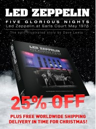 Led Zeppelin - Five Glorious Nights (FREE WORLDWIDE SHIPPING UNTIL DEC 15th)