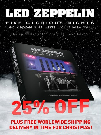 Led Zeppelin - Five Glorious Nights (FREE WORLDWIDE SHIPPING UNTIL DEC 18th)