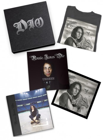 Ronnie James Dio Boxset with The Photo Biography