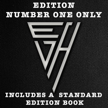 EDWARD VAN HALEN by Ross Halfin GUITAR SLIPCASE EDITION NO 1 ONLY