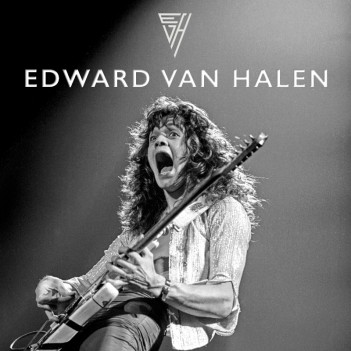 EDWARD VAN HALEN by Ross Halfin STANDARD EDITION