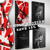 EDWARD VAN HALEN by Ross Halfin BUNDLE EDITION