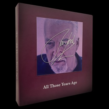 Jon Lord All Those Years Ago - UNSIGNED LAST 6 COPIES