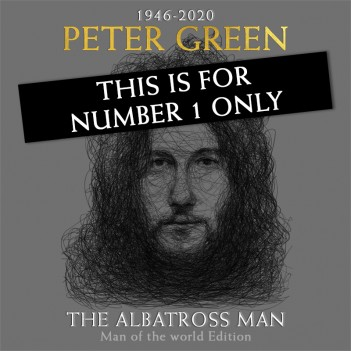 THE ALBATROSS MAN BY PETER GREEN - Man of the World Signed Edition No 1 ONLY