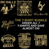 T-SHIRT BUNDLE (ALL 7 LIMITED EDITION T-SHIRTS)