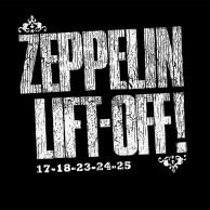 T-SHIRT ZEPPELIN LIFT OFF (100 COPIES WORLDWIDE)