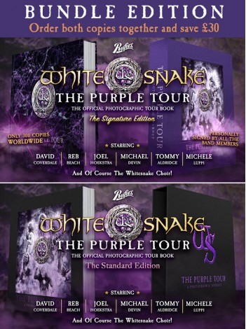 Whitesnake The Purple Tour - A Photographic Journey The Bundle Edition