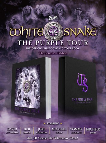 Whitesnake The Purple Tour - A Photographic Journey Standard Edition